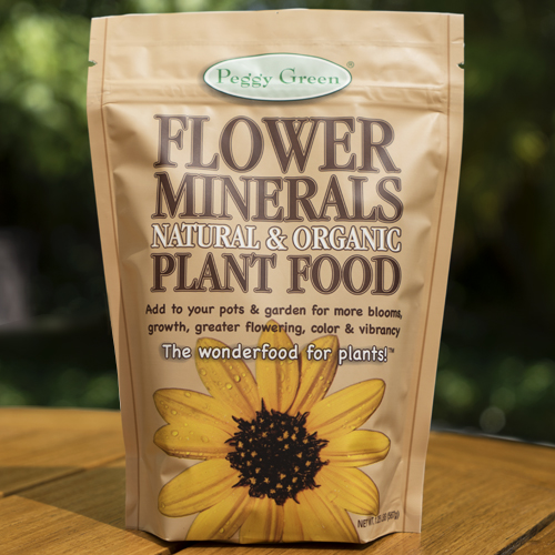 Organic flower fertilizer and organic mineral plant food for all flowers and ornamentals