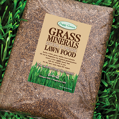 Organic fertilizer. Organic lawn fertilizer. Nitrogen free. Phosphorus free. Grass fertilizer for safe, healthy lawns.