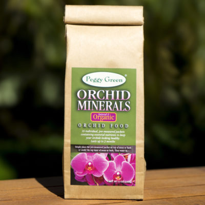 Organic orchid plant food and organic orchid food for keeping orchids healthy