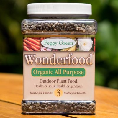 All purpose organic plant food for healthier soils and gardens